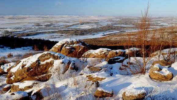 蛇洞山雪景