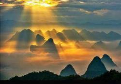 桂林尧山(石人山)景点介绍